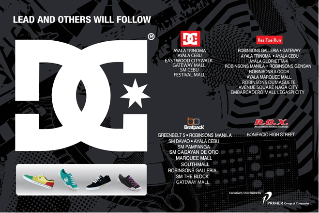 DC Shoes Philippines - Store Locator 2dc3efcdfa